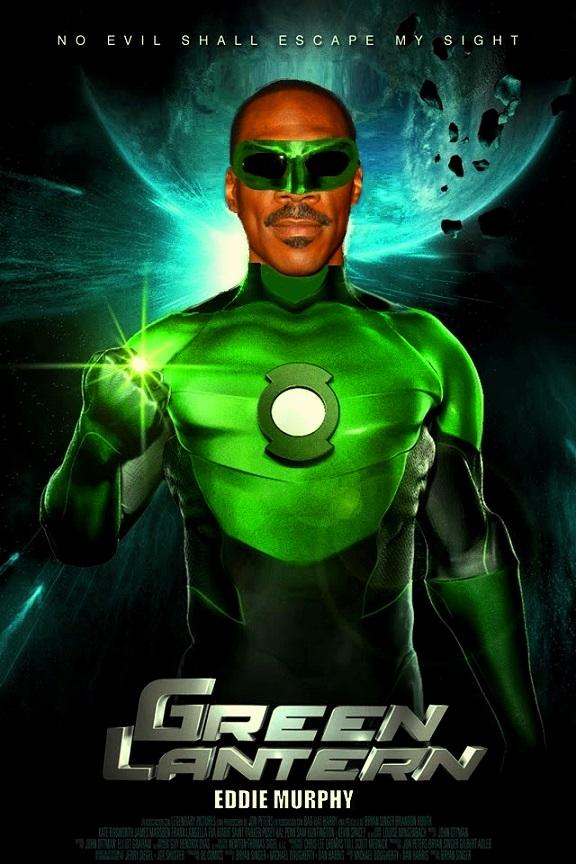 """DDNN Eddie Murphy is John Stewart """"Green Lantern"""""""