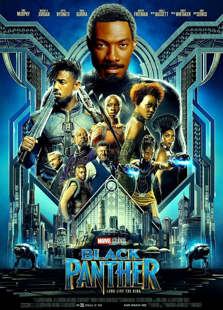 "DDNN Eddie Murphy is ""Black Panther"""