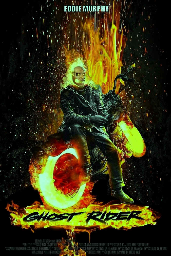 "DDNN_Eddie Murphy is ""Ghost Rider"""