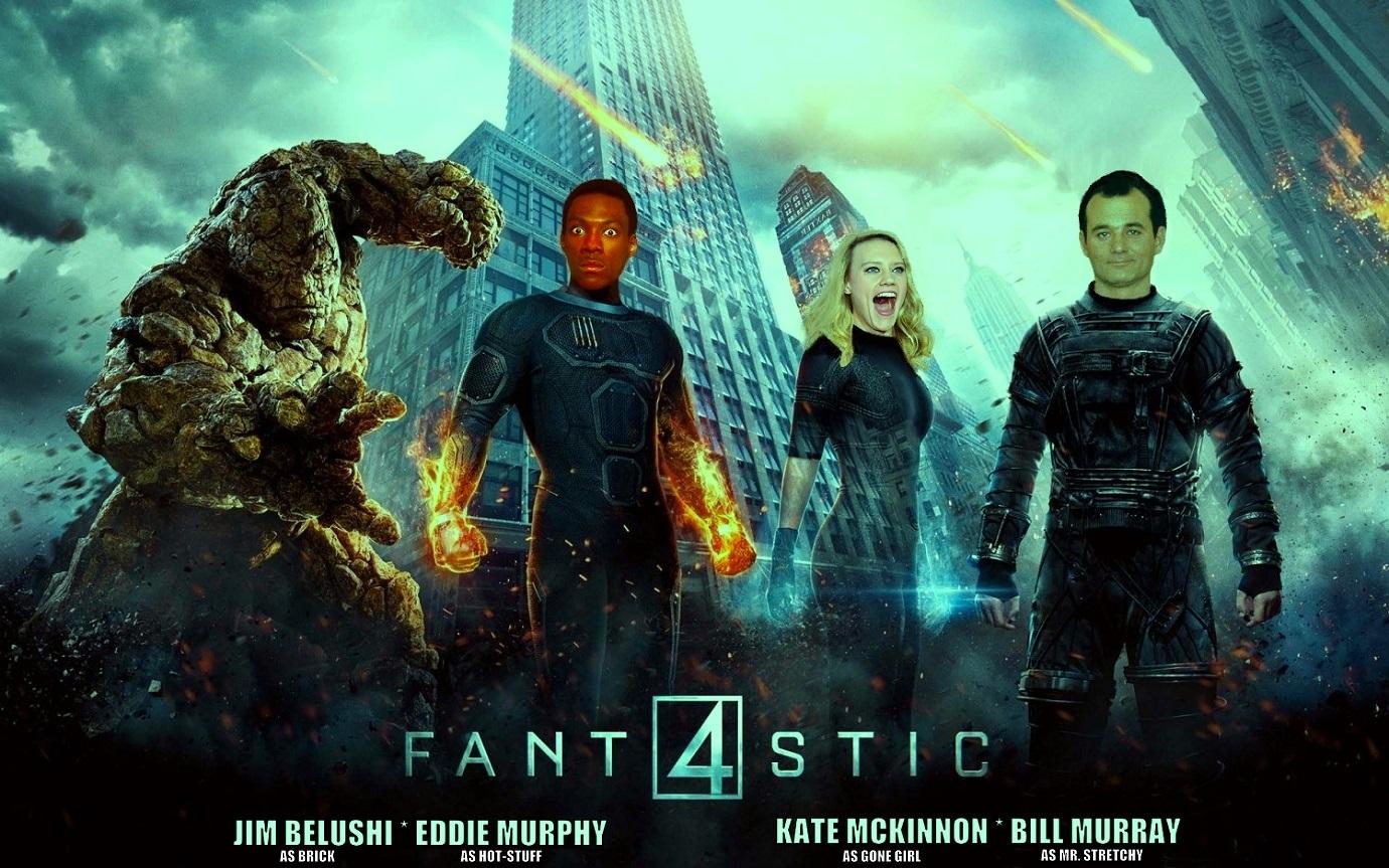"""DDNN Eddie Murphy in """"Fantastic Four"""""""