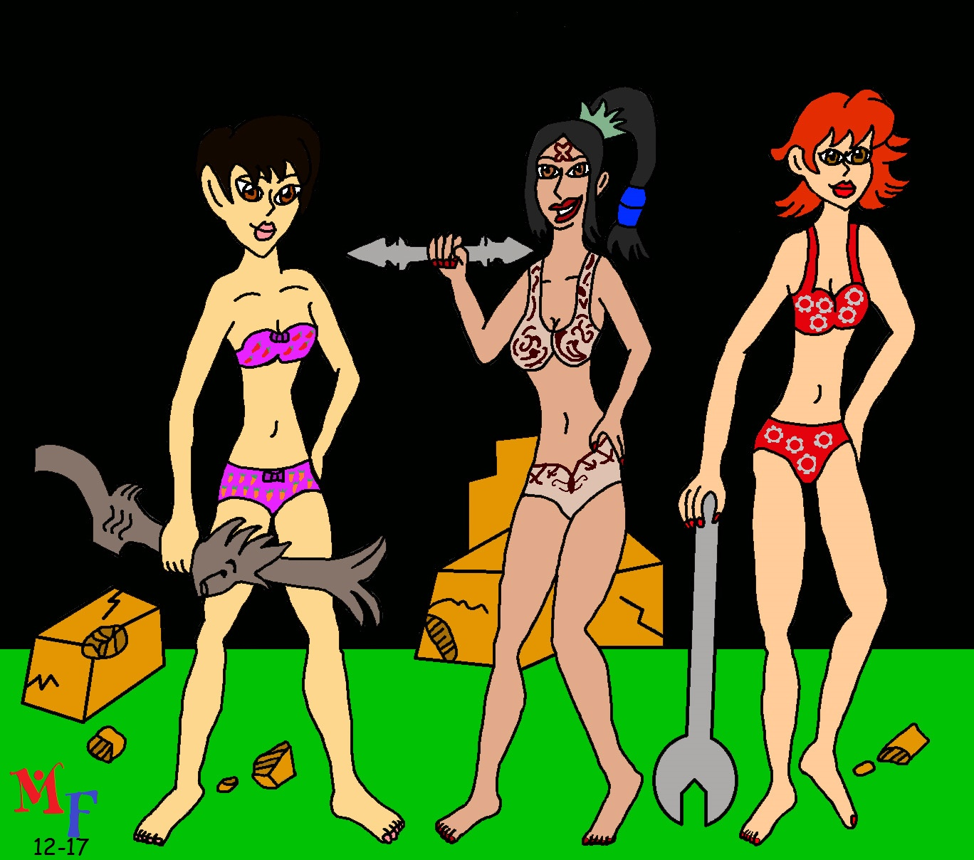 Ghosts N' Goblins Girls