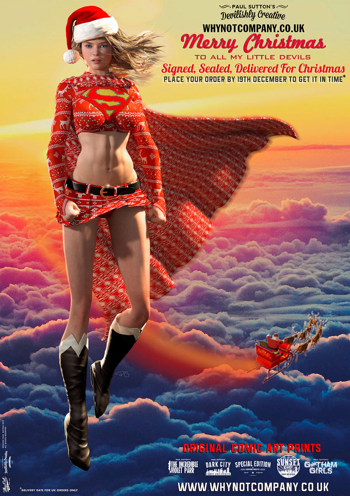 Supergirl, Secret Santa...