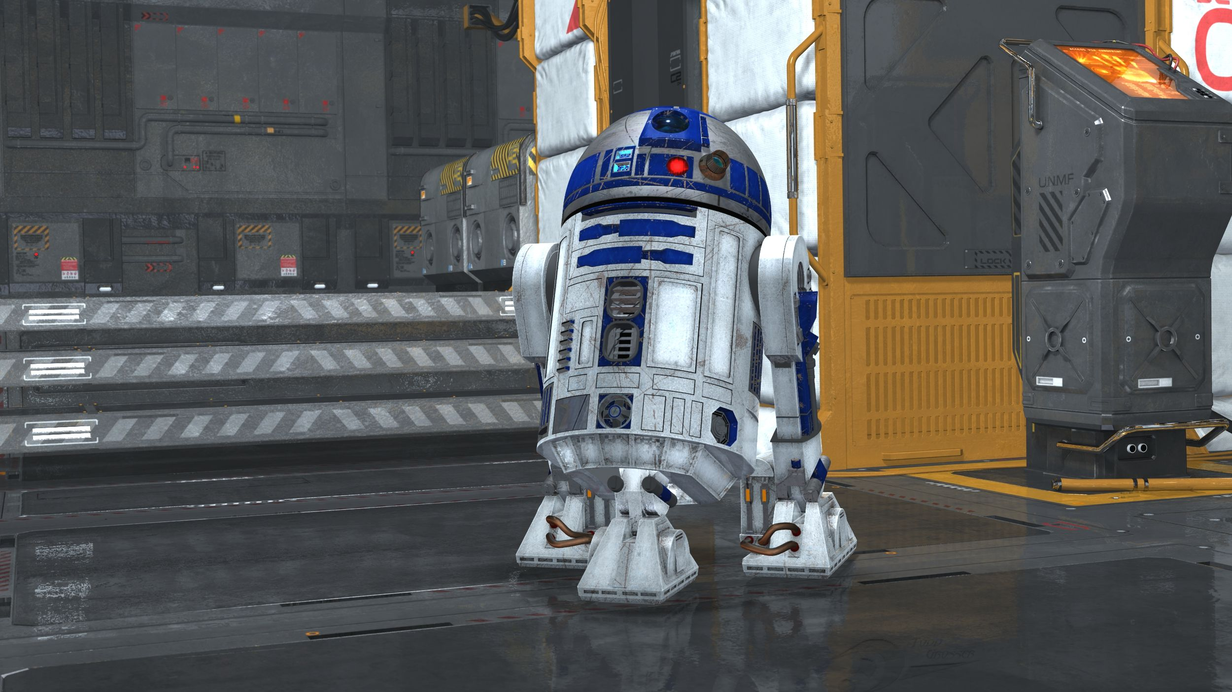 Because R2-D2 that's why