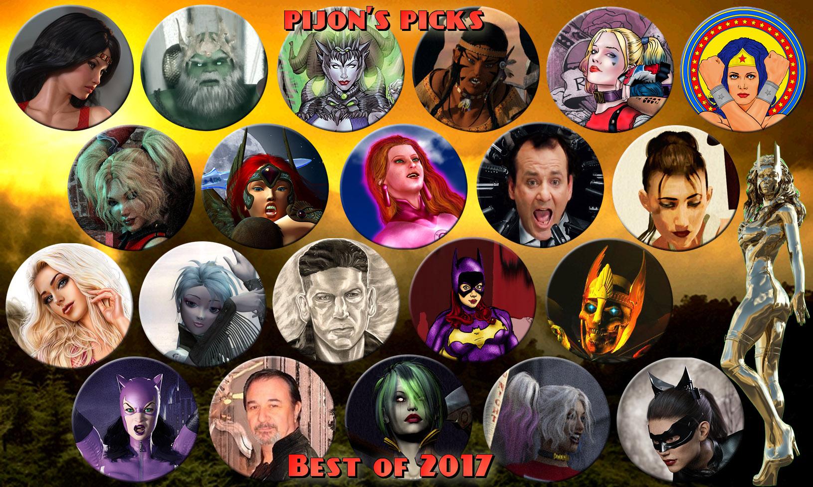pijon's Best of 2017