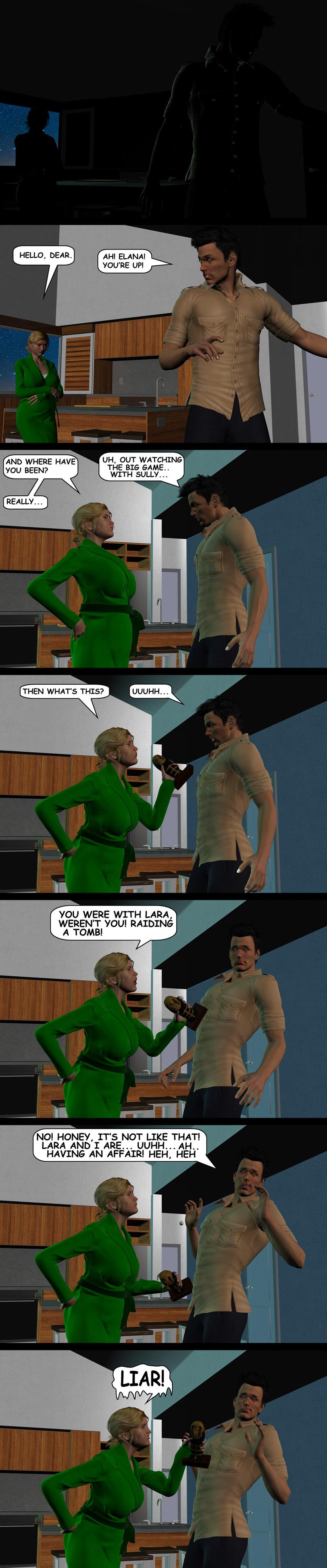 NATHAN DRAKE THE OTHER WOMAN