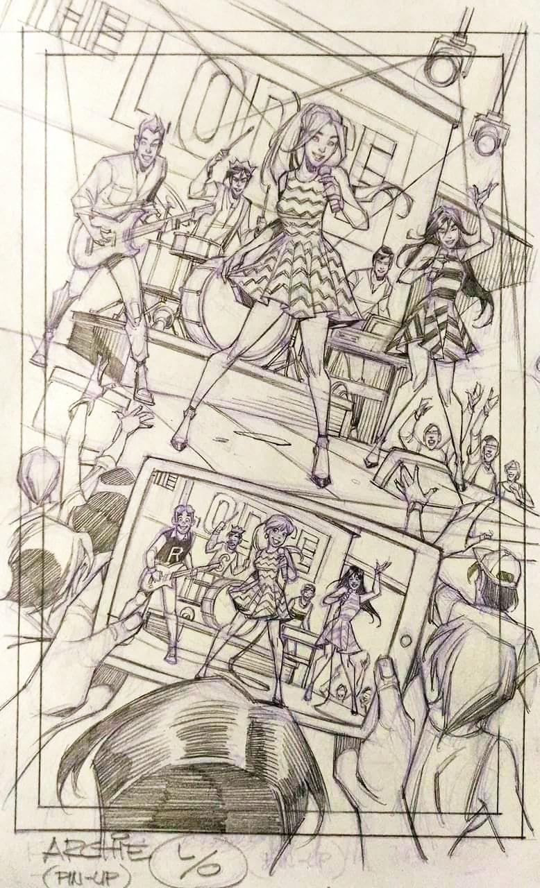 ARCHIE'S EVOLUTION -- Step 1 -- by Jinky Coronado