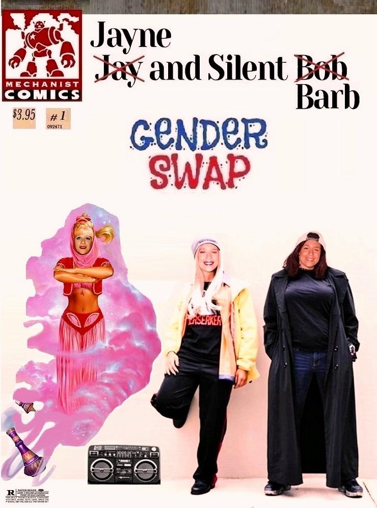 Mechanist Comics: Jayne and Silent Barb #1