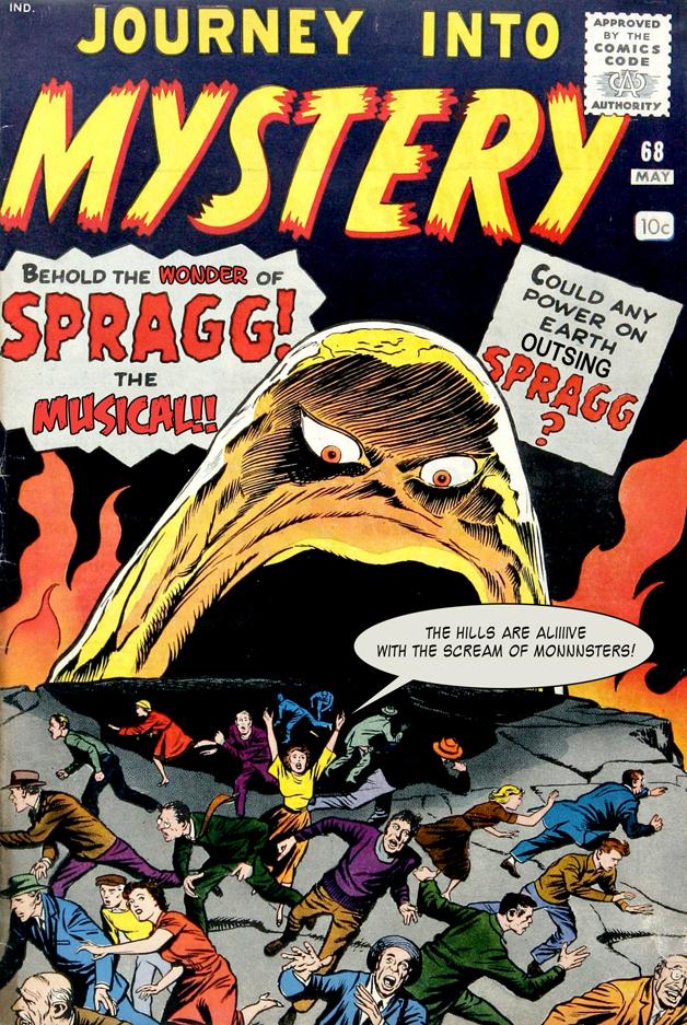 Cover Redo: Spragg- the Musical!