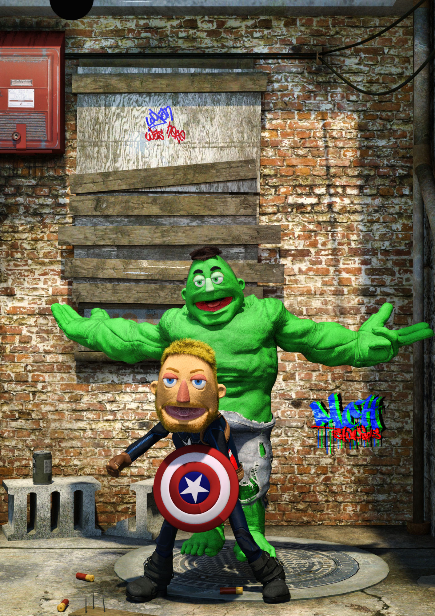 Avenging Muppets
