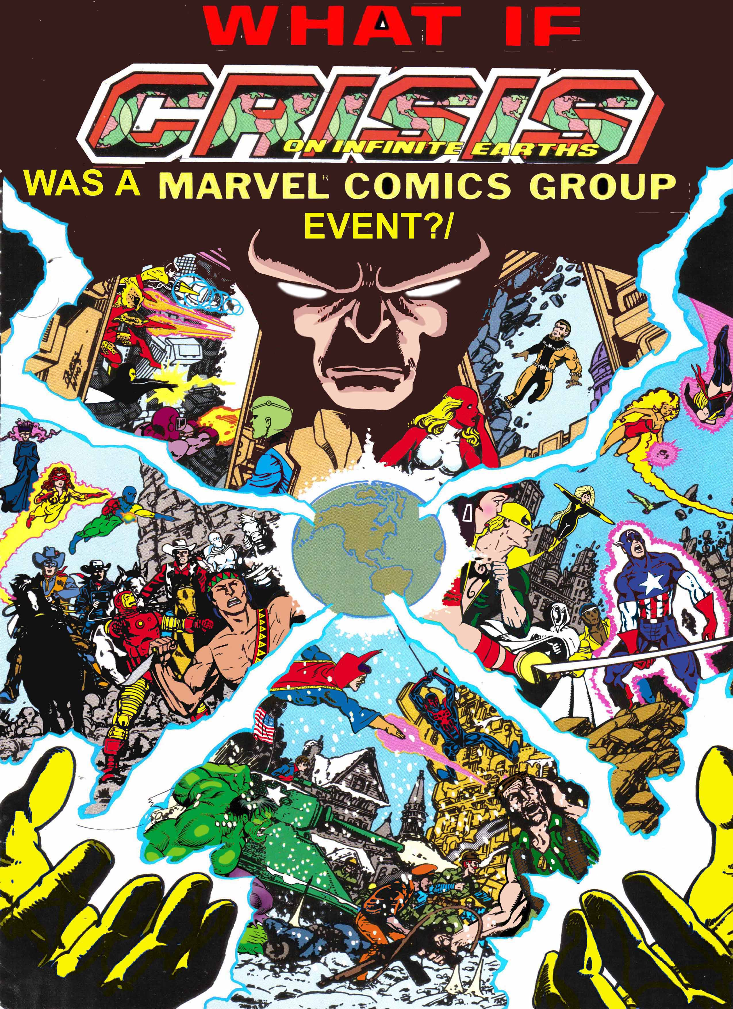 What If Crisis on Infinite Earths was a Marvel Comics Group Event Book 3 cover