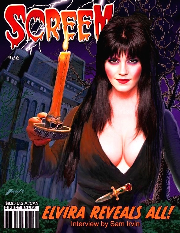 Heromorph-O-Weenish: Elvira Screem