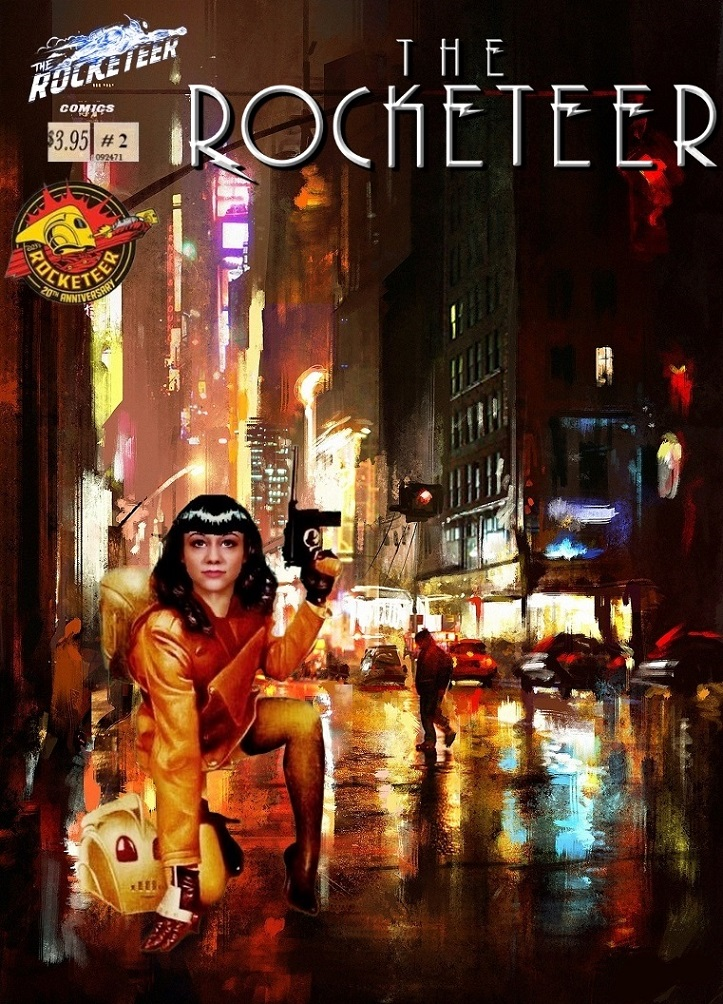 The Rocketeer :Next Gen in the NYC #2