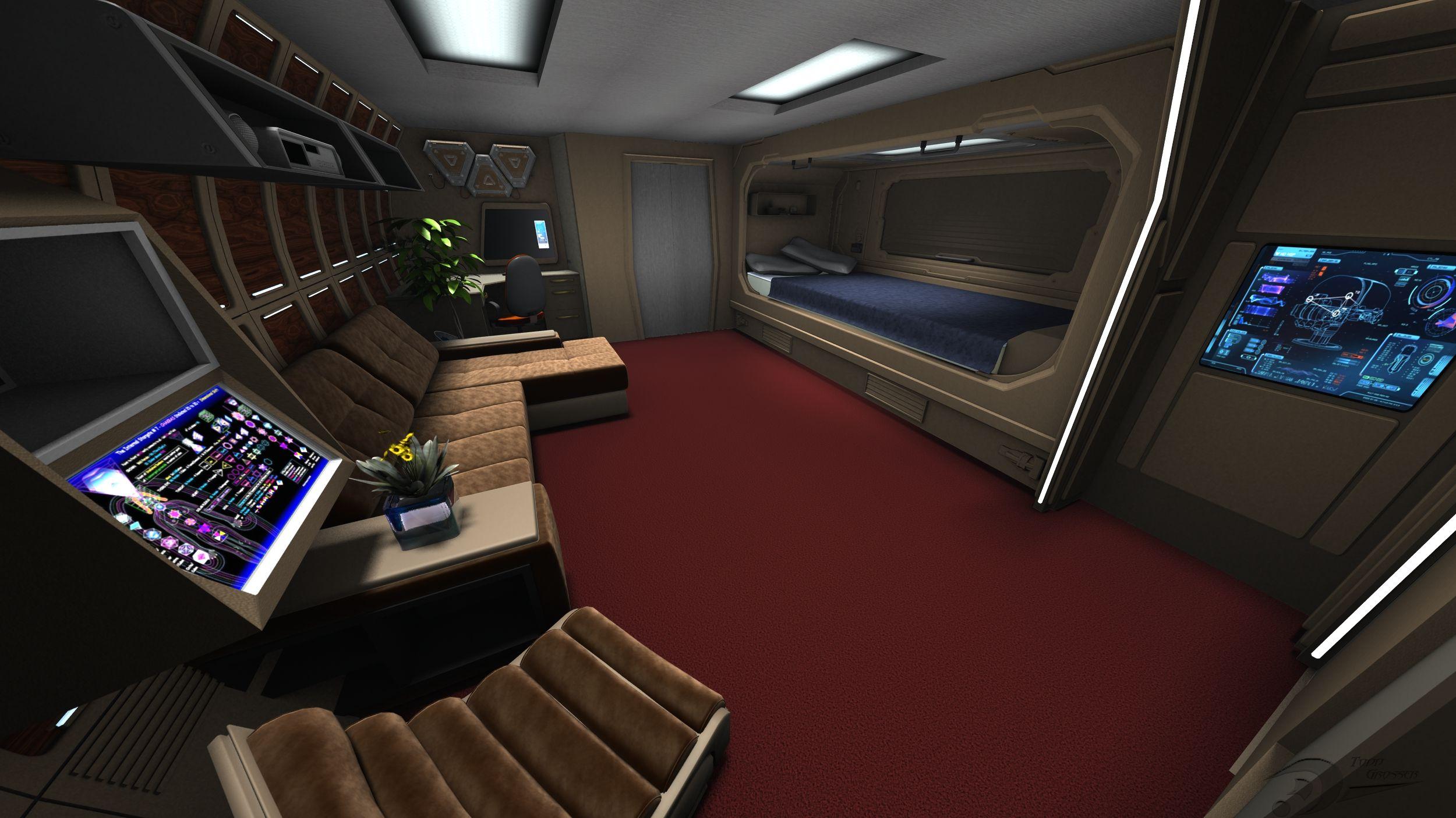 Phantasm standard officer quarters