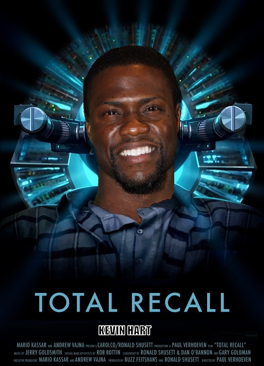 DDJJ:  'Total Recall'  With Kevin Hart