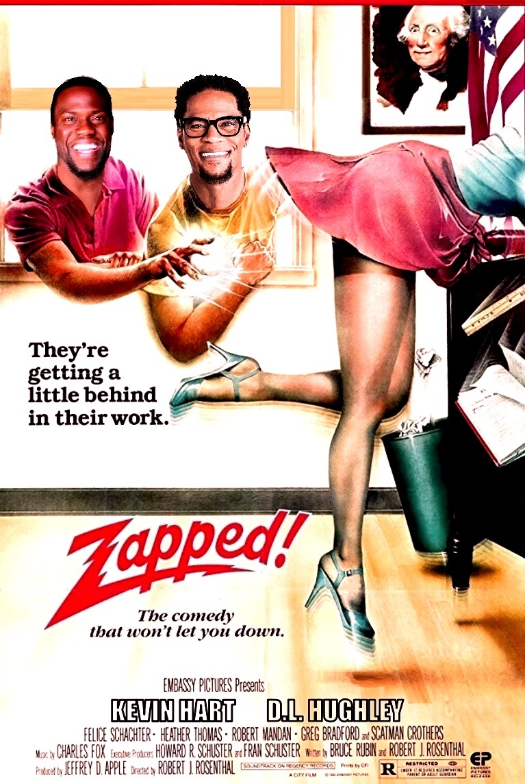 DDJJ:  'Zapped'  With Kevin Hart