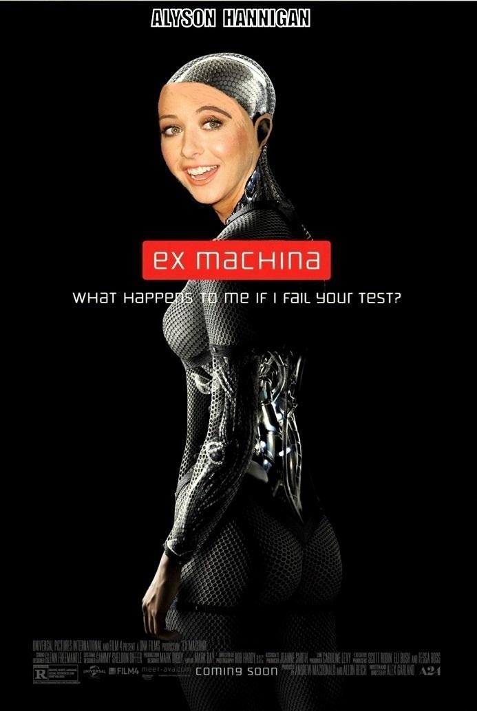 DDJJ: 'Ex-Machina' is Alyson Hannigan