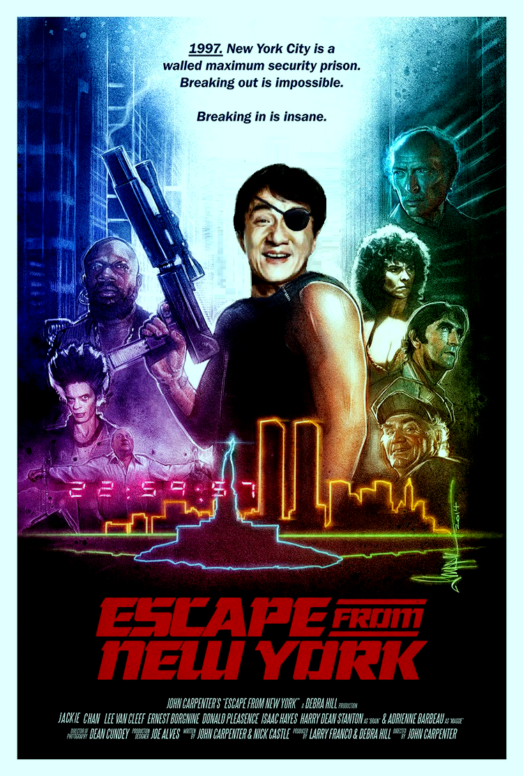 DDJJ: 'Escape From New York' Jackie Chan is Snake