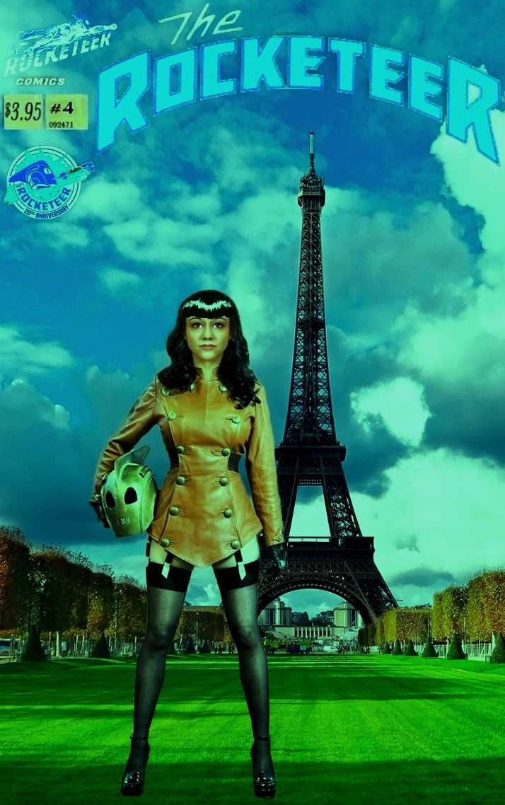 The Rocketeer #4 All Skies Lead to Paris