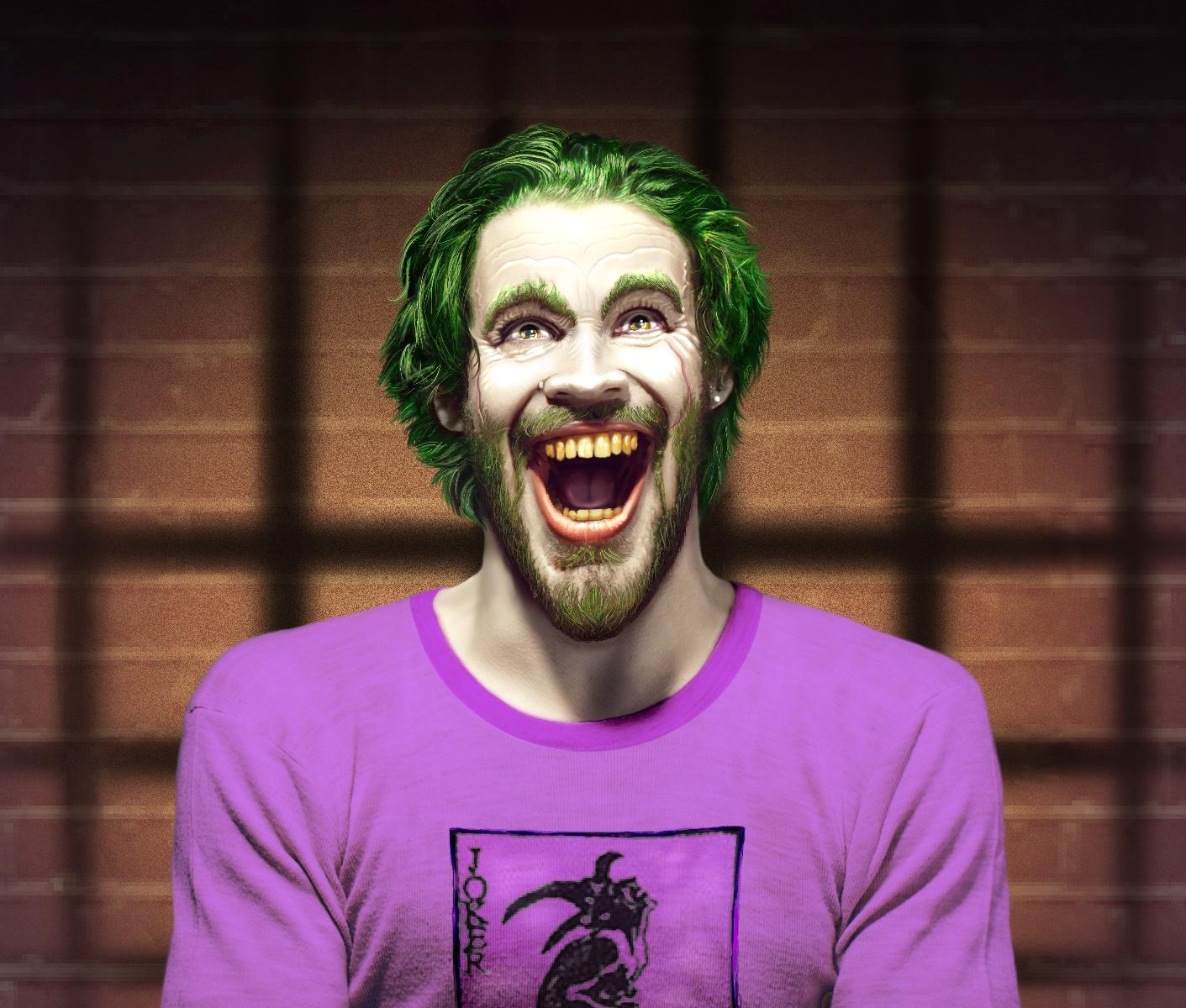 Joker on Ice