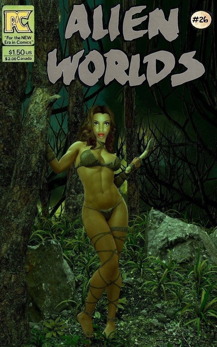 Alien Worlds # 26 Stone-age World
