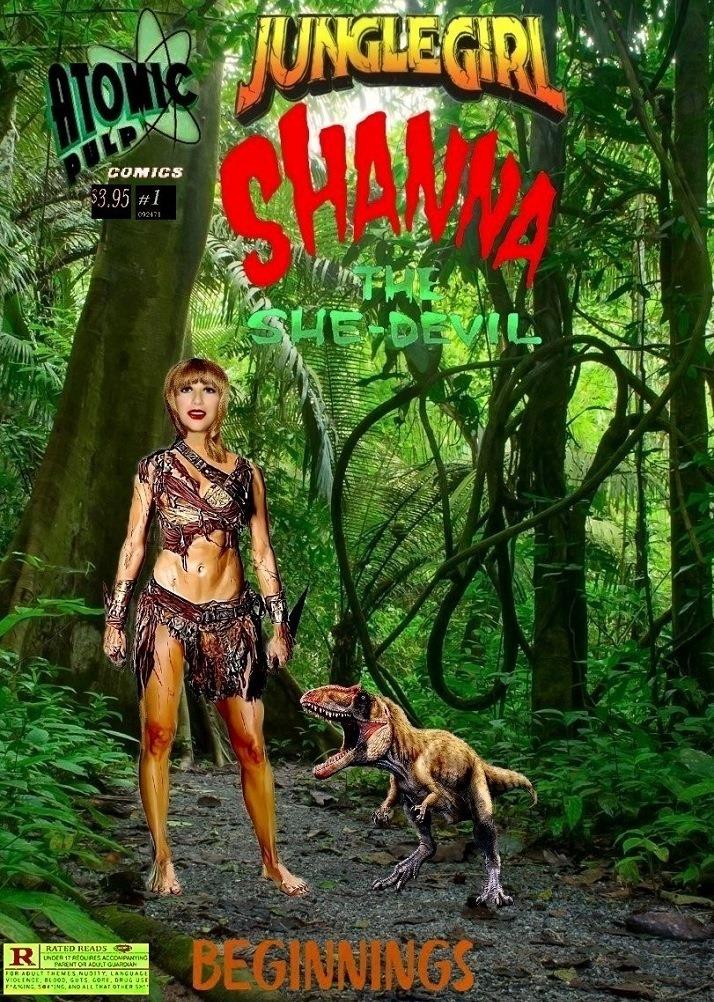 Junglegirl Shanna The She Devil #1 Beginings