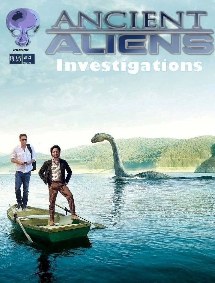 Ancient Alien Investigations: # 4