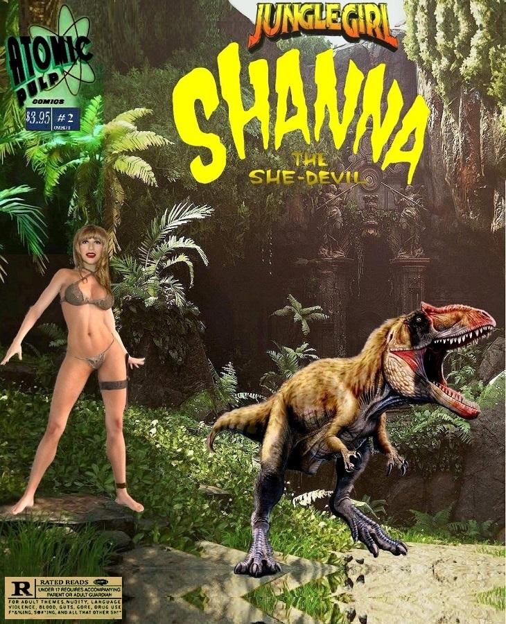 Junglegirl Shanna The She Devil #2
