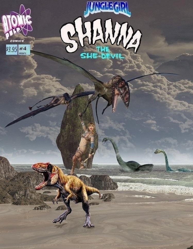 Junglegirl Shanna The She Devil # 4