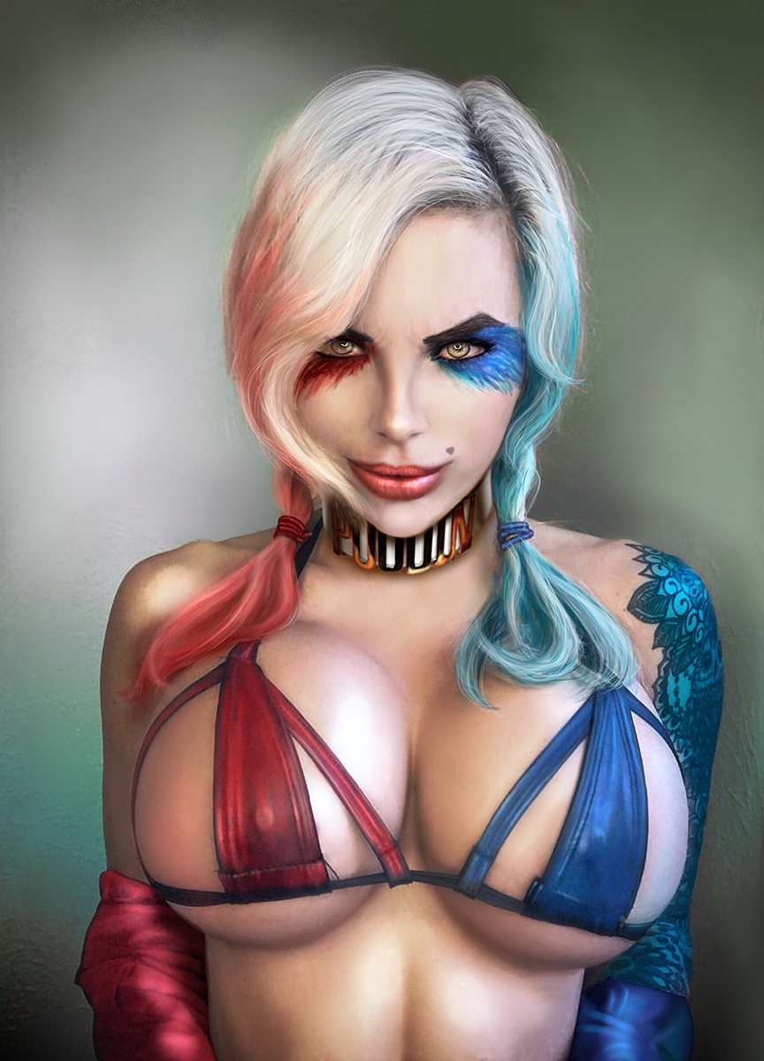 Harley Quinn Bikinky!