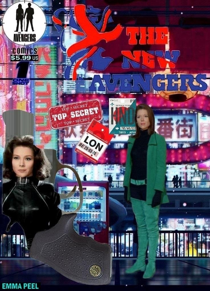 The New Avengers: one Shot 'Emma Peel'