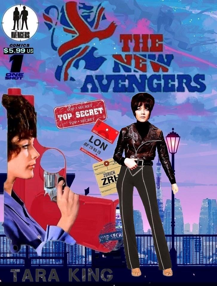 The New Avengers: one Shot 'Tara King'
