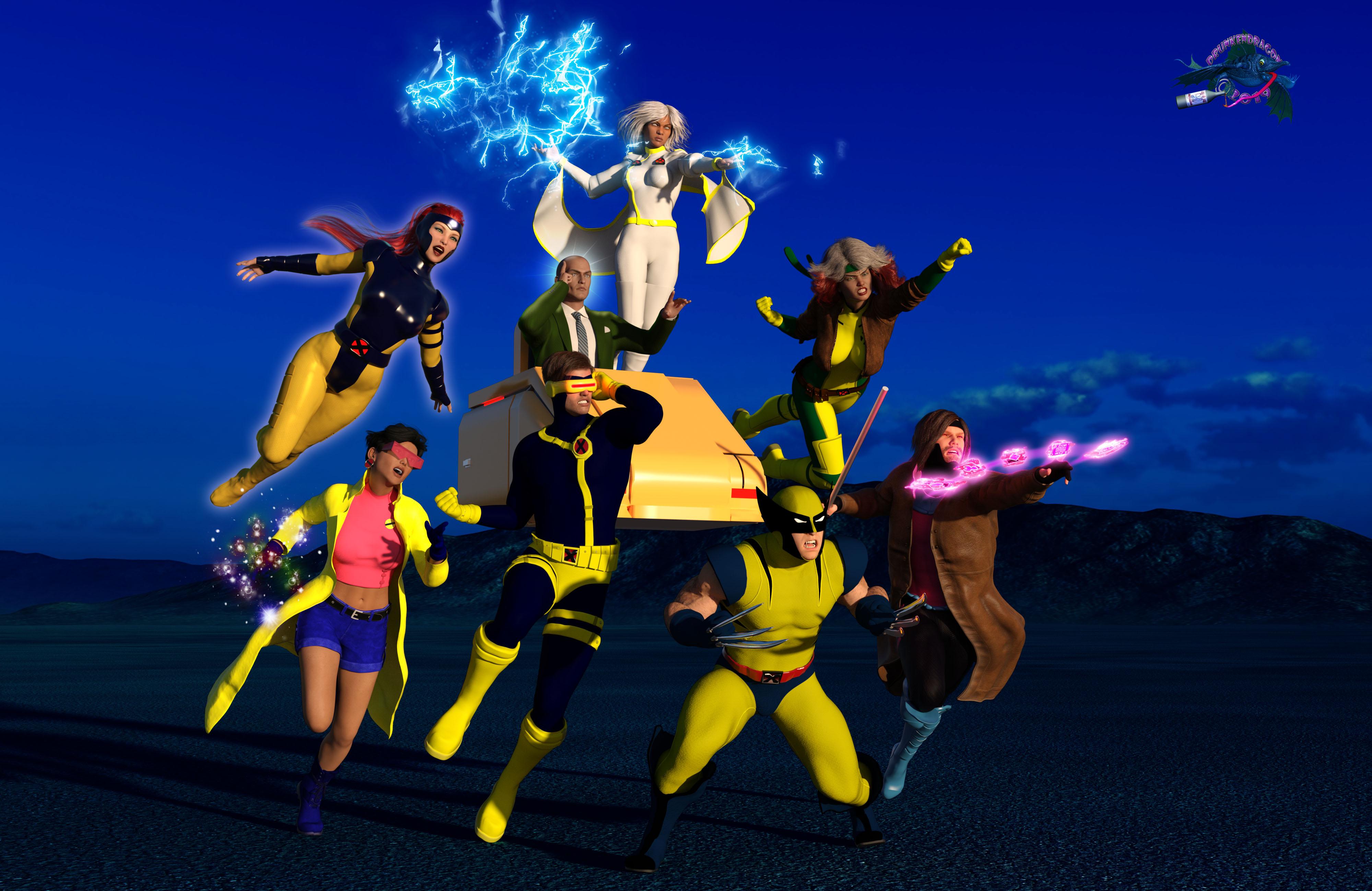 X-Men GOOD v evil