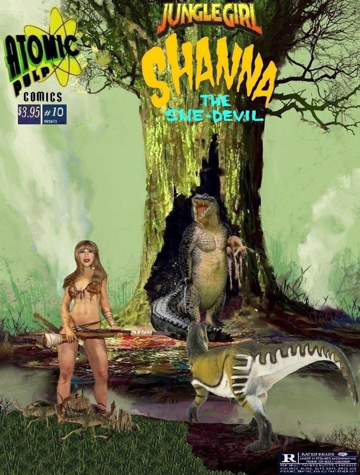 Junglegirl Shanna the She-Devil  #10