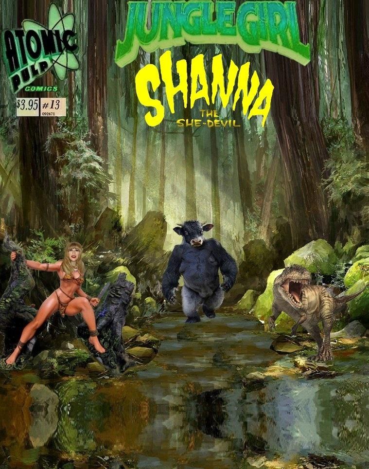 Junglegirl Shanna the She-Devil  #13
