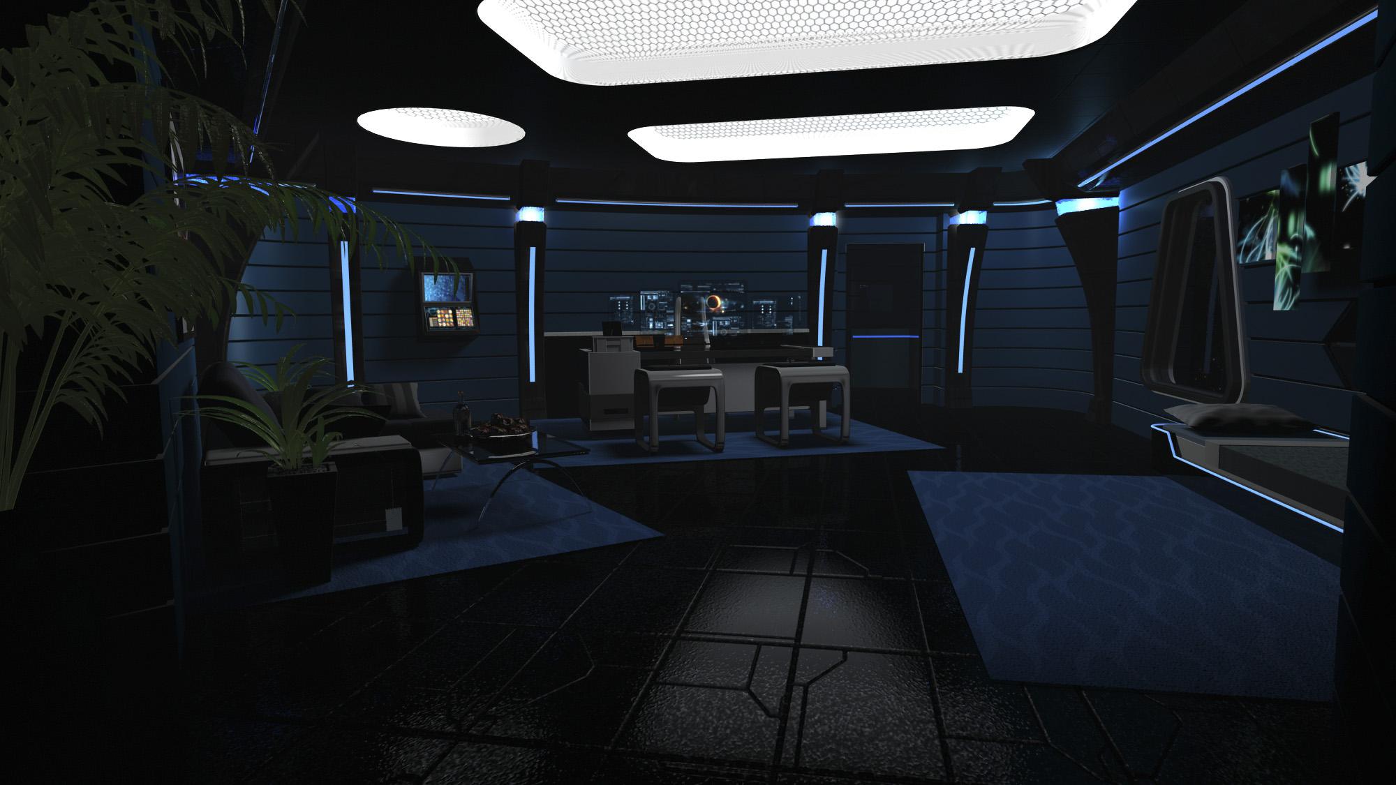 Captain's office ISS Phantasm