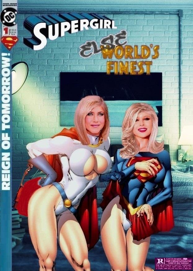 Supergirl Powergirl Else World's Finest