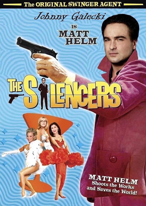 Matt Helm The Silencers Poster Mod