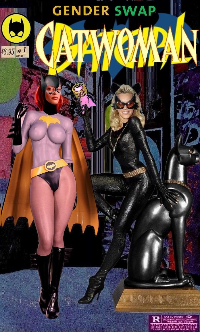Catwomam Batman Phamped Gender Swap 1