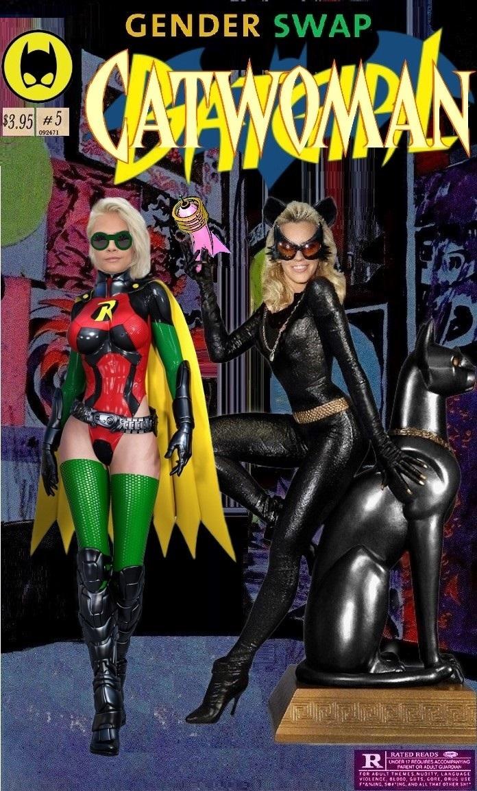 Catwoman Gender Swap #2