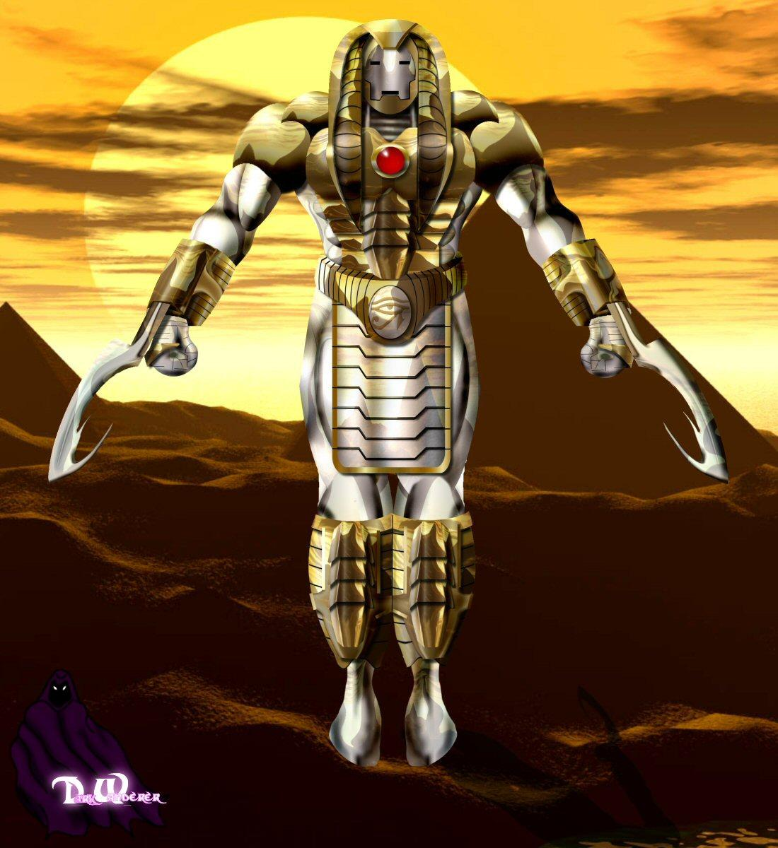 """Iron Man From Egypt"" January Contest"