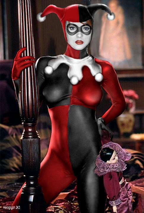 Harley Quinn by Heroglyph