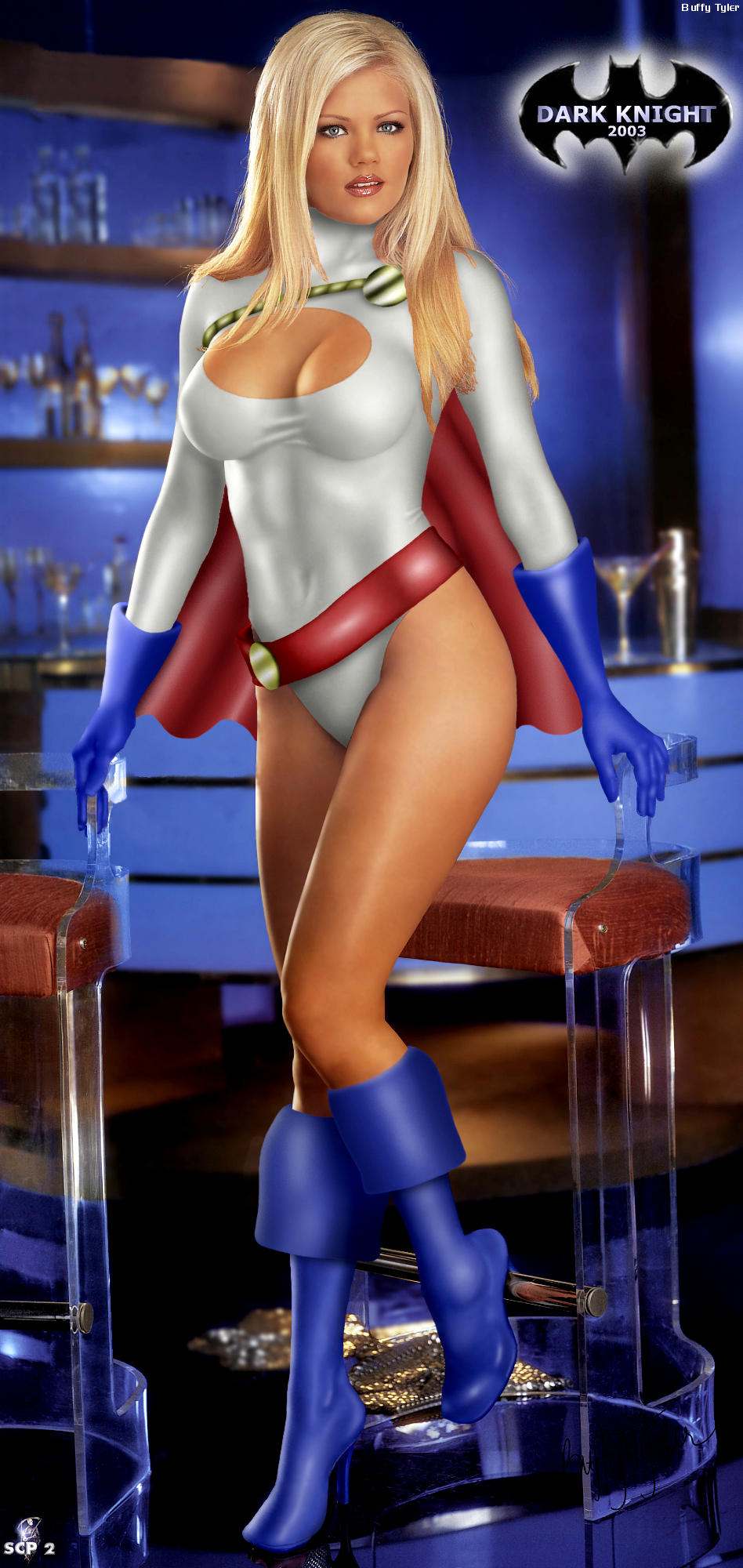 Powergirl by Dark Knight