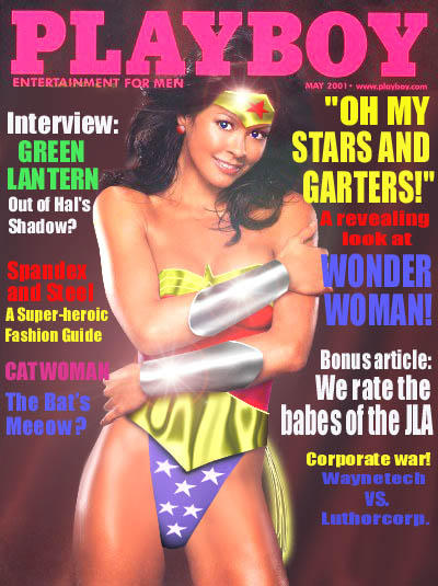 Wonder Woman Magazine Cover by Junfan
