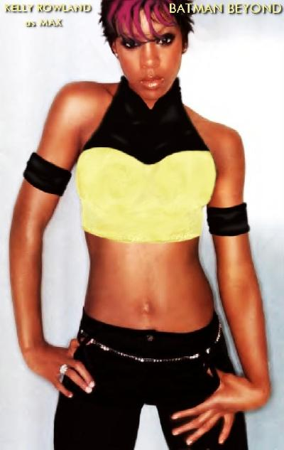Kelly Rowland as MAX in BATMAN BEYOND