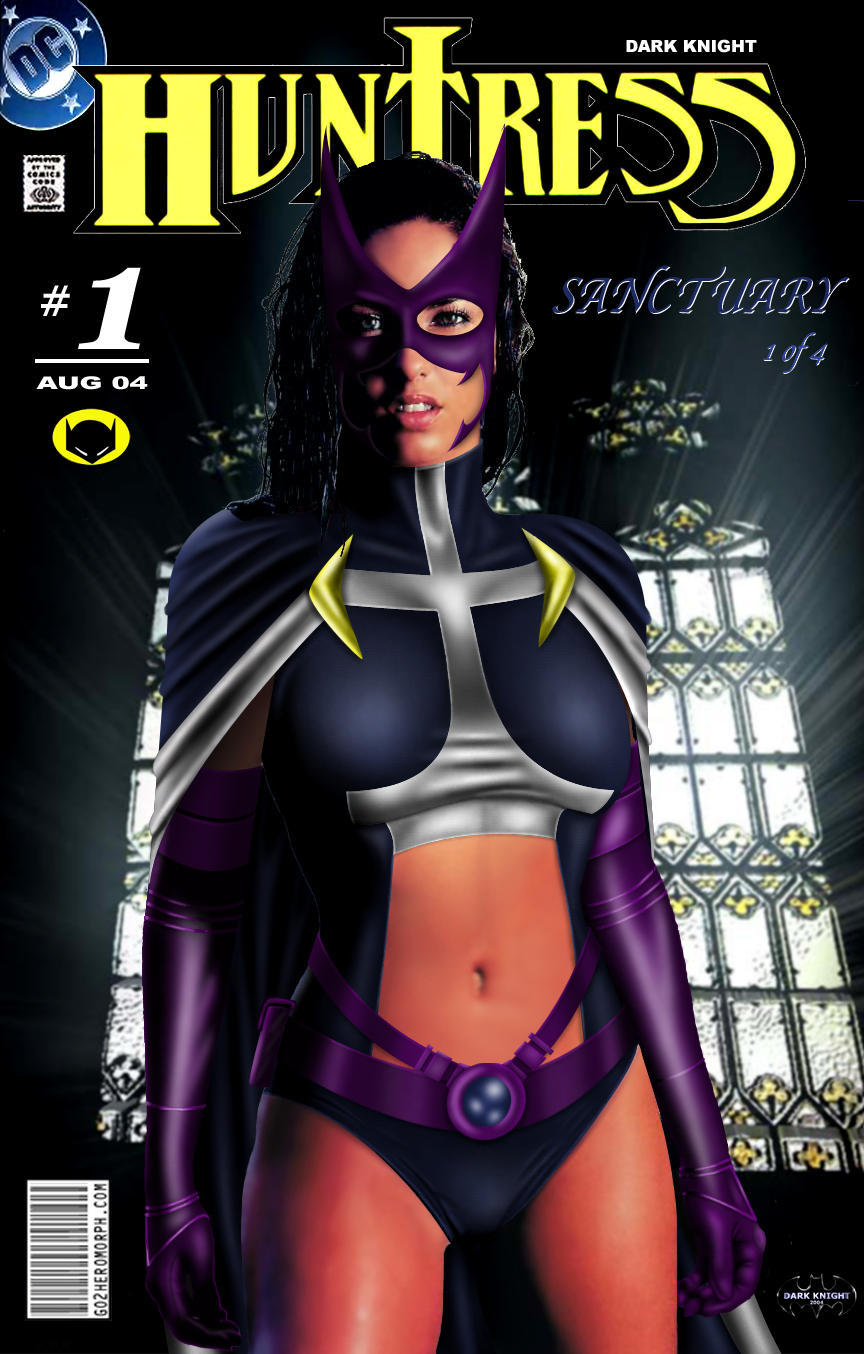 The Huntress Comic by Dark Knight