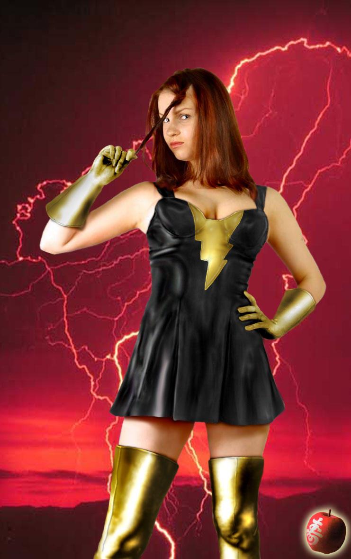 DC Elseworlds Kallisti Style pt4: Mary Marvel/Black Eve