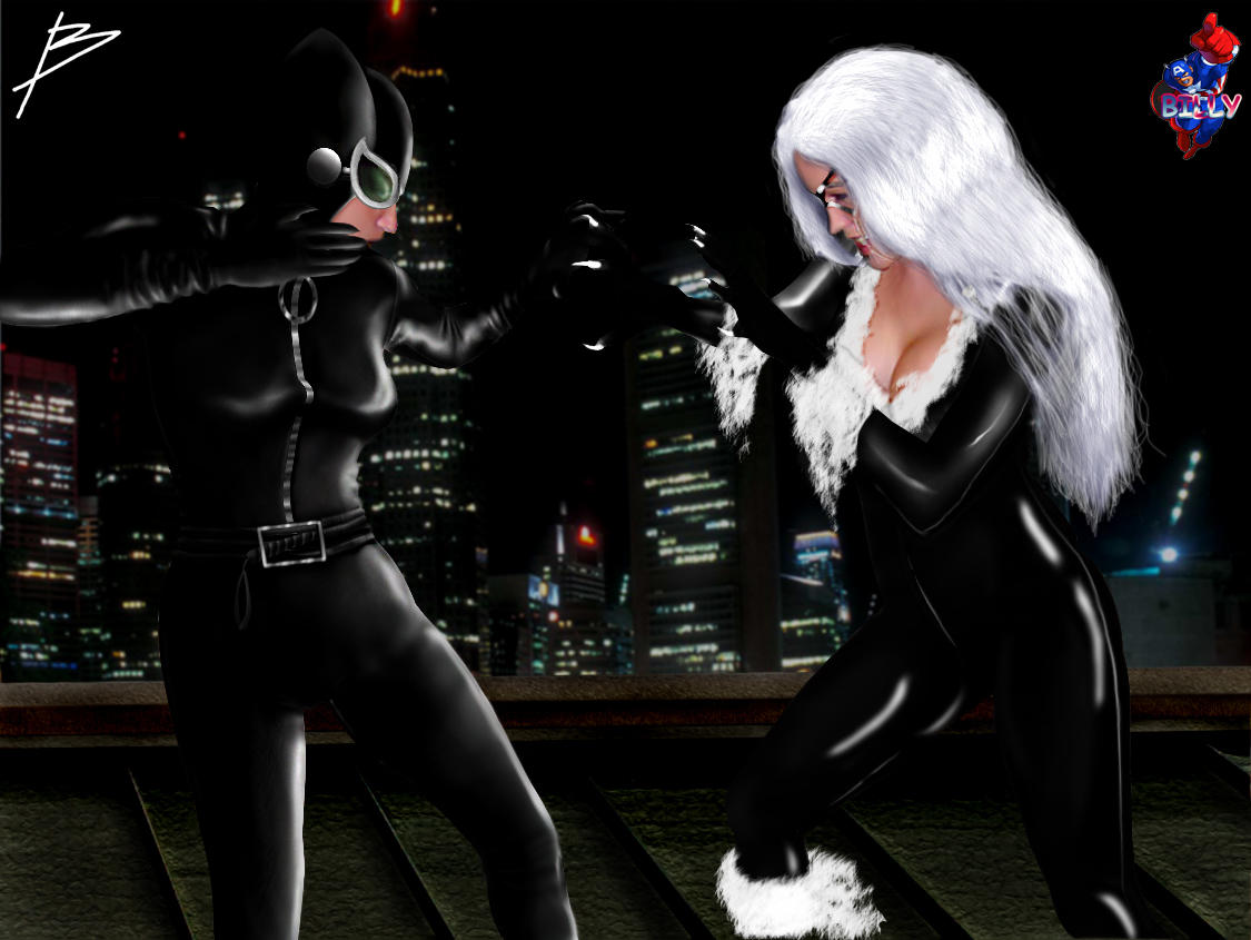 HM/C2F Crossover: CATFIGHT! by B and billy