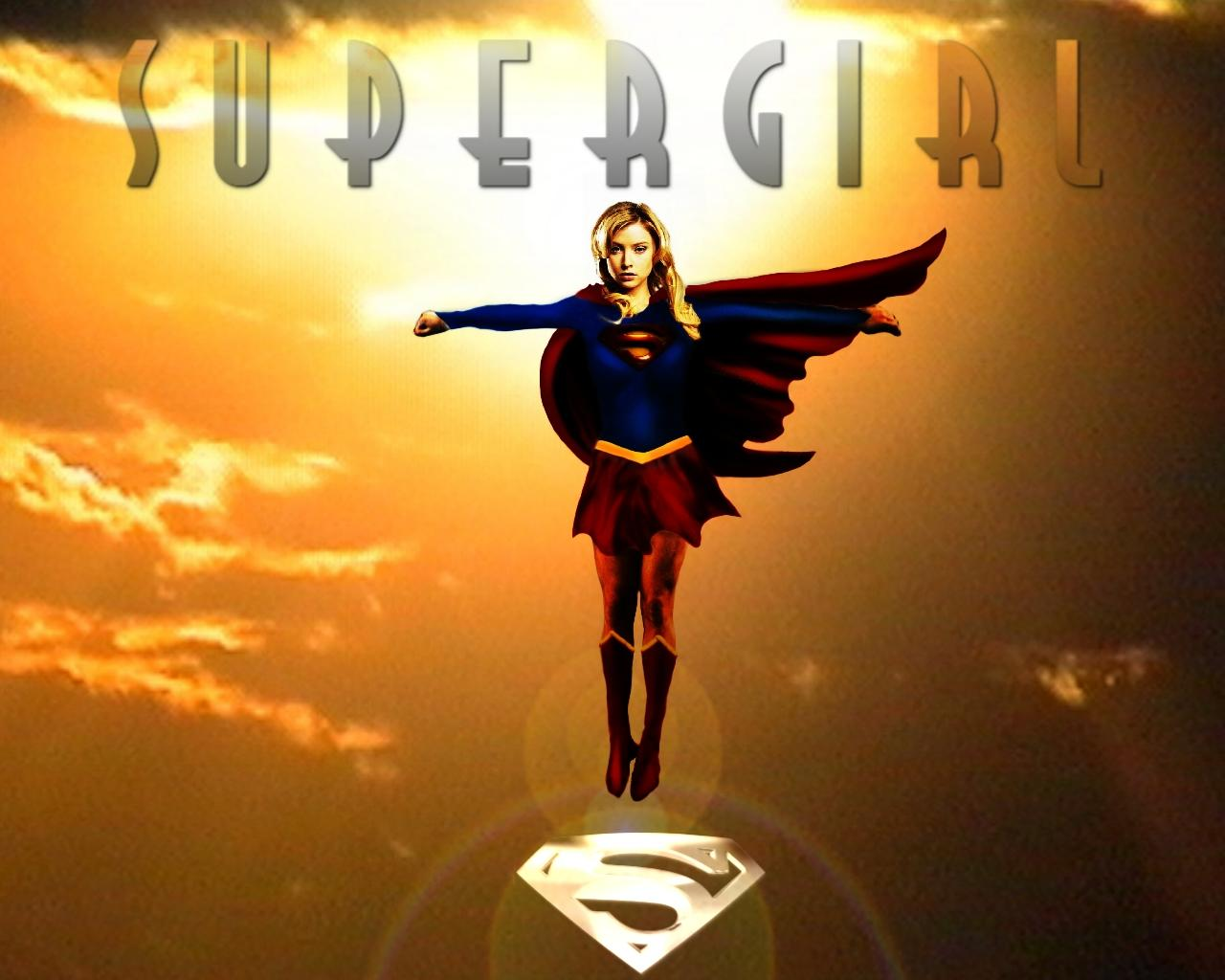 Supergirl- Sunset Flight -Movie Poster 2