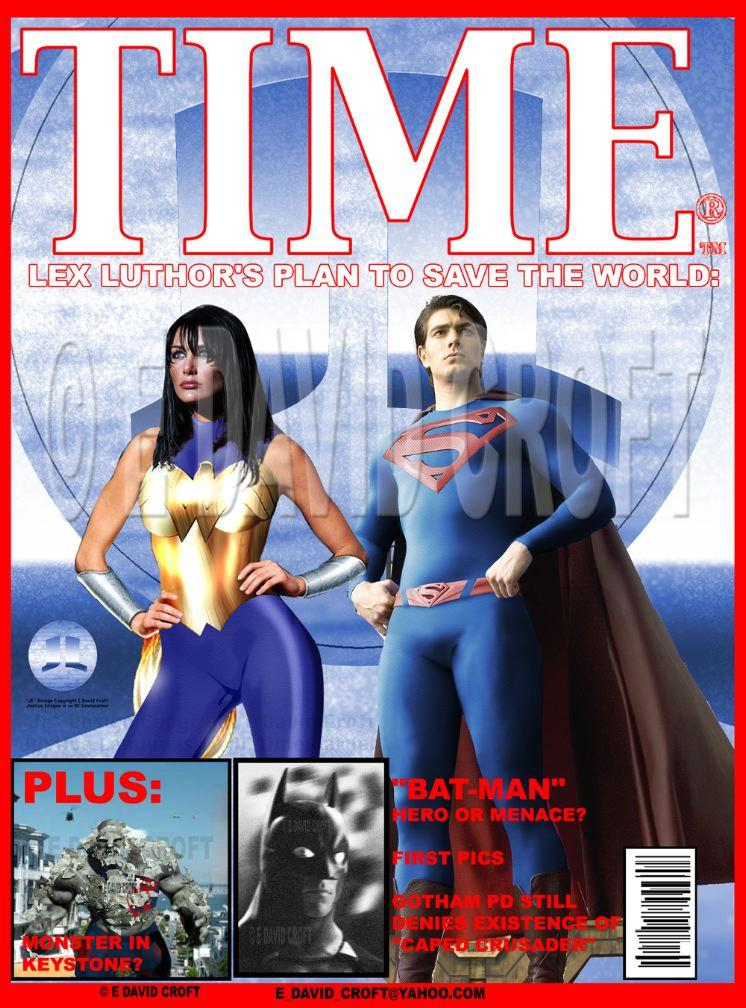 ultimate justice league on time magazine