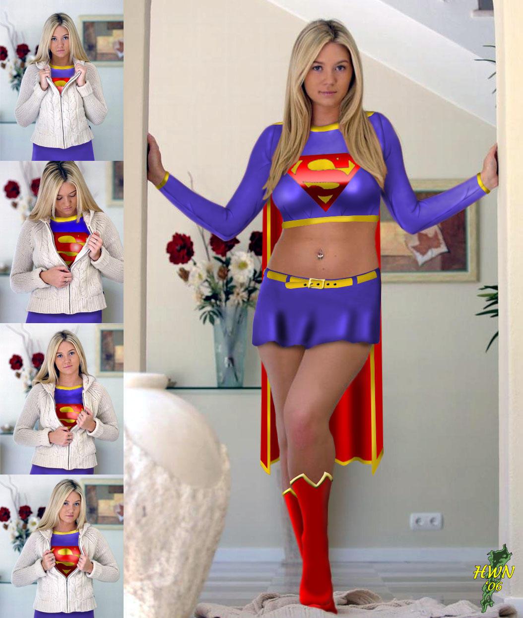 Supergirl next door